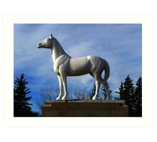 WHITE HORSE PLAINS  Art Print