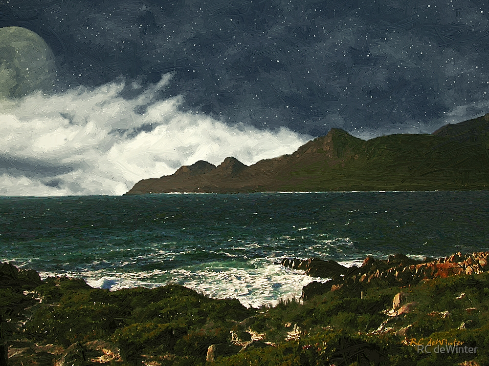 Symphony of Stars and Sea by RC deWinter
