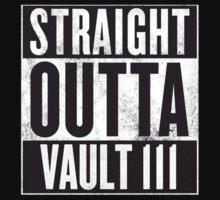 Straight Outta Vault 111 by MrNukaCola
