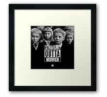 Straight Outta Midwich Framed Print