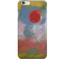 Goodbye Red Balloon iPhone Case/Skin