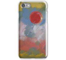 Goodbye Red Balloon iPhone Case/Skin