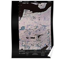 USGS Topo Map Washington State WA Union 20110418 TM Inverted Poster