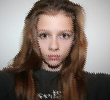 Distorted Face by TallulahMoody
