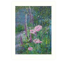 Sue's Garden Art Print