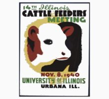 Cattle Feeders Meeting Kids Tee