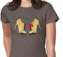 Glowing Shoes Womens Fitted T-Shirt