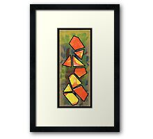 Triangle Person #1 Framed Print