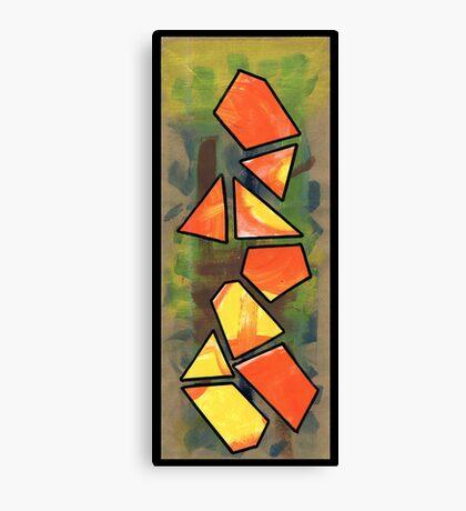 Triangle Person #1 Canvas Print