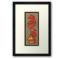 Triangle Person #2 Framed Print