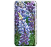 Dancing Lupines - Spring In Central California iPhone Case/Skin