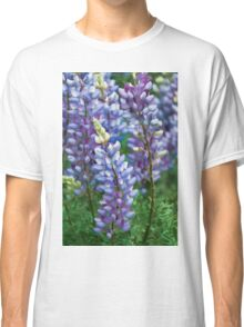 Dancing Lupines - Spring In Central California Classic T-Shirt