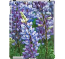 Dancing Lupines - Spring In Central California iPad Case/Skin