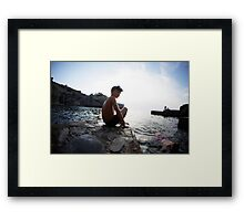 Summer in Mallorca Framed Print