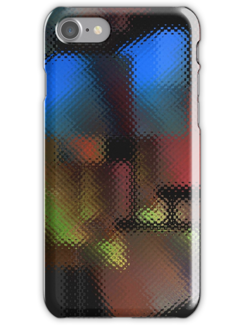 iPhone Case of painting..Stumbling Block... by linmarie