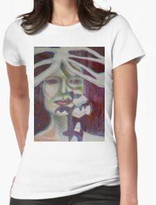 Crumble Womens Fitted T-Shirt