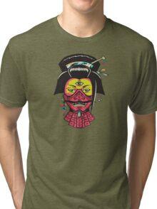 Samurai Geisha Tri-blend T-Shirt