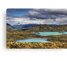 The Lakes of Torres del Paine #1 Canvas Print
