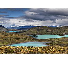 The Lakes of Torres del Paine #1 Photographic Print