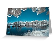 Teeter Pond Dream Greeting Card
