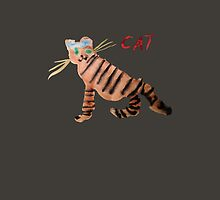 Cat on Brown by ubiquitoid