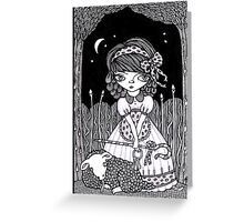 Pouty Miss Peep Greeting Card