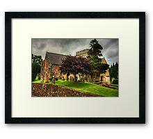 Biggar Kirk Framed Print