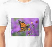 Monarch and Asters Unisex T-Shirt