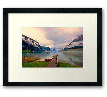 Norwegian Landscape IV Framed Print