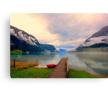 Norwegian Landscape IV Canvas Print