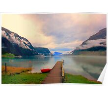 Norwegian Landscape IV Poster