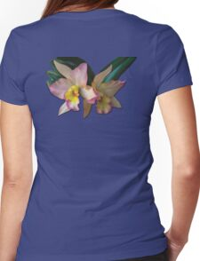 Orchid 1 Womens Fitted T-Shirt