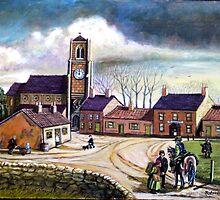 Early morning Cramlington 1800 by james thomas richardson