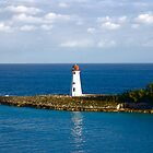 Bahamas light house by harryvw