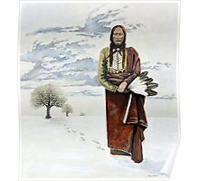Quanah Parker Leaving his Home Poster
