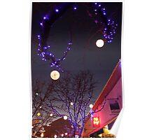 Two Lanterns Poster