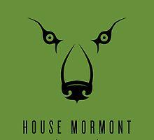 House Mormont Minimalist Poster by liquidsouldes