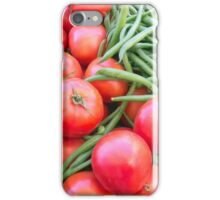 Farm Fresh Tomatoes and Beans iPhone Case/Skin