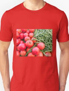 Farm Fresh Tomatoes and Beans T-Shirt
