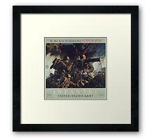 U.S. Infantry Vintage Poster Framed Print