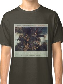 U.S. Infantry Vintage Poster Classic T-Shirt