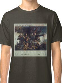 U.S. Infantry Vintage Poster Classic T-Shirt