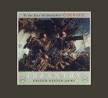 U.S. Infantry Vintage Poster Unisex T-Shirt