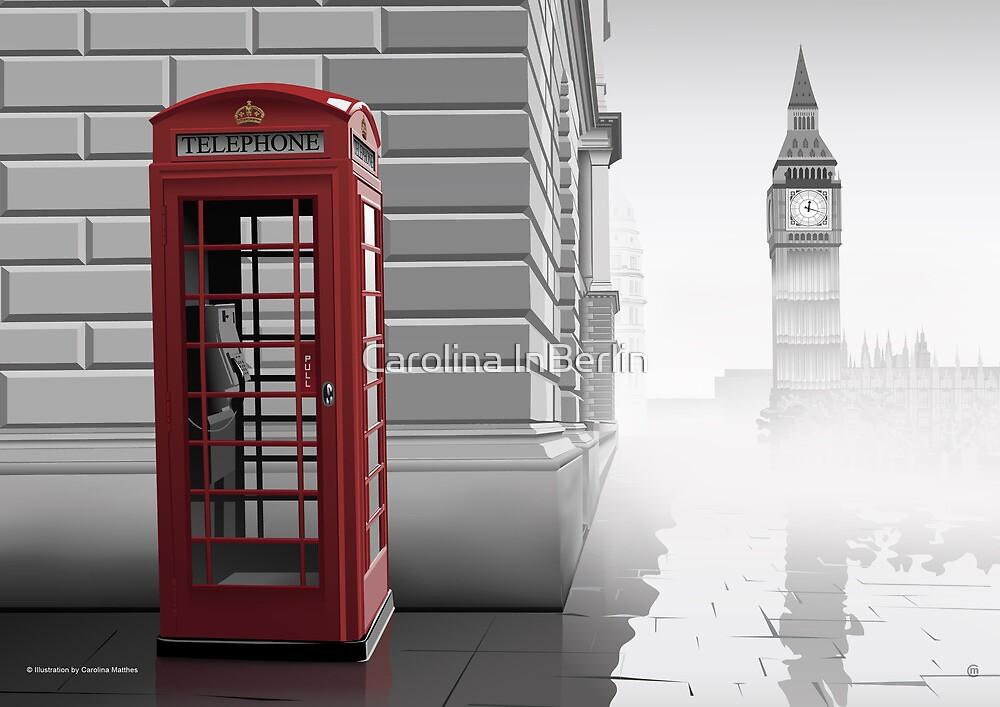 London (Vectorillustration) by CarolinaMatthes