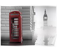 London (Vectorillustration) Poster