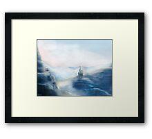 Mountain Castle Framed Print