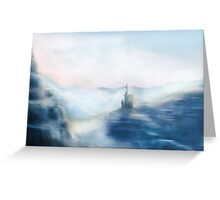 Mountain Castle Greeting Card