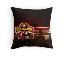 El Mecado - Sign Series - 1st Ave, S. Austin Throw Pillow