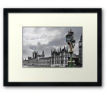 Houses Of Parliament, London Framed Print