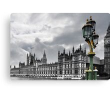Houses Of Parliament, London Canvas Print